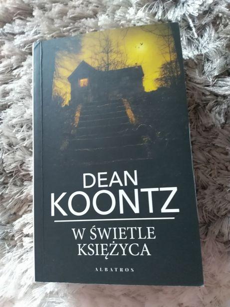"""Książka Dean Koontz """"W świetle księżyca"""""""