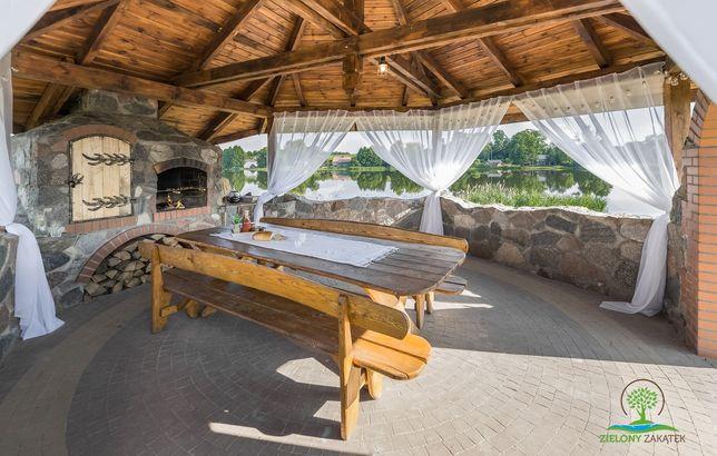 Domek nad samym jeziorem Mazury rezerwacje sezon 2021 zapraszamy