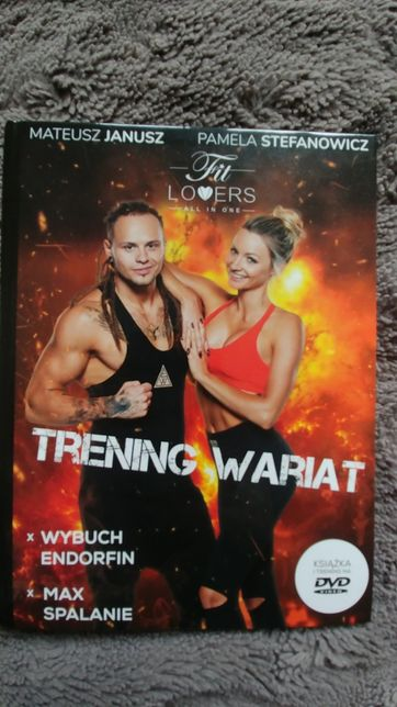 Plyta fit lovers trening wariat cwiczenia