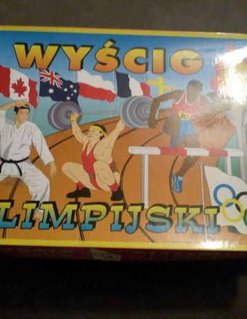 Puzzle , gra wyścig olimpijski