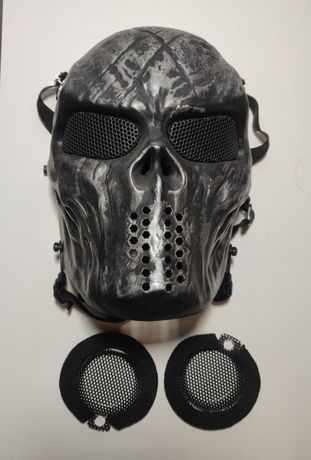 Máscara de Proteção para Airsoft/Paintball