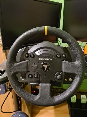 Thrustmaster tx leather edition t3pa th8a laserclip simracing zamiana
