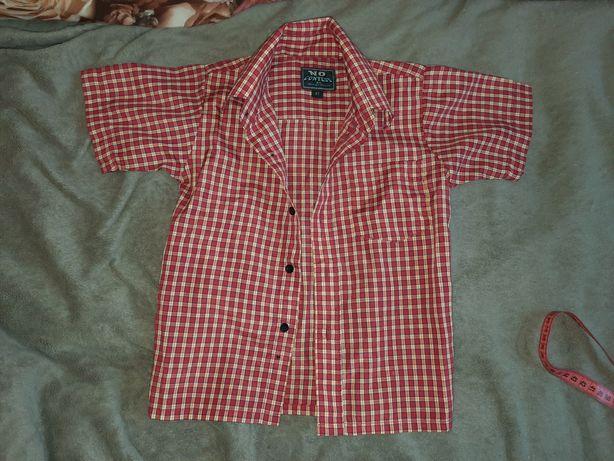 Рубашка клетка короткий рукав 4лет США