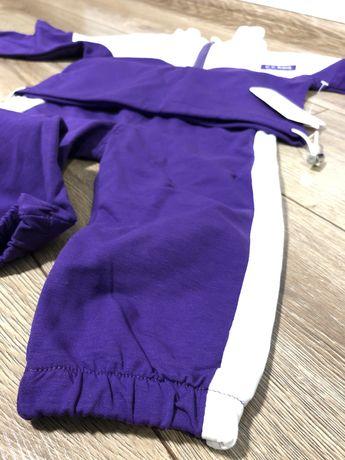 Новый с биркой Спортивный костюм 90 размер унисекс