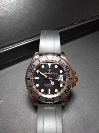 Relógio Rolex Yacht master rose gold novo suiÇo ETA MOVIMENTO