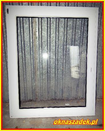 125x133 fix nieotwierane WYPRZEDAŻ KOŃCÓWEK SERII! Okno PCV używane