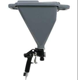 Pistola Hopper da Graco para projecçao de Gotelê