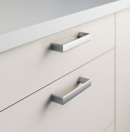 Ручка Держатель TYDA IKEA / Тида ИКЕА 138мм 2шт, комплект нерж.сталь