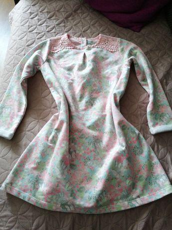 Piękna sukienka w kwiatki 110