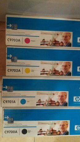 Комплект цветных картриджей к HP1500 НОВЫЕ Оригинал!!!