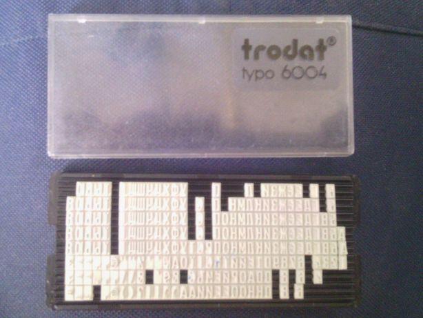 Касса букв печать Само наборный штамп текстовой Trodat ежедневник