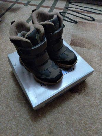 Зимние ботинки 29р для мальчика