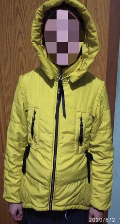 Куртка для дівчинкі