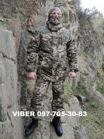 Зимовий костюм форма воєнна зимова новий піксель армії в армію ЗСУ ВСУ