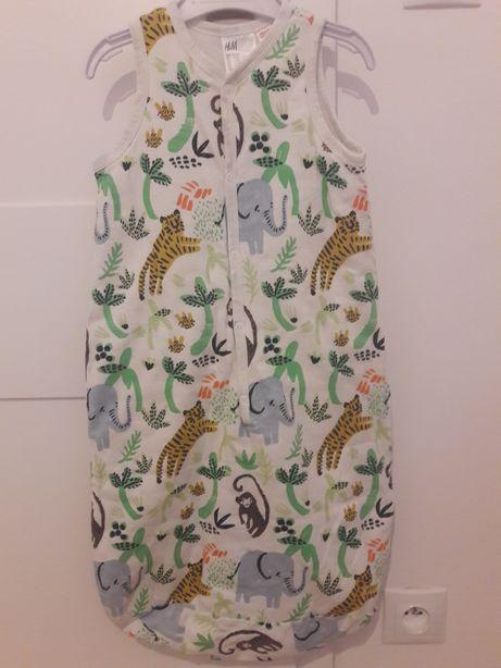 Śpiwór śpiworek piżama H&M 0-6 miesięcy