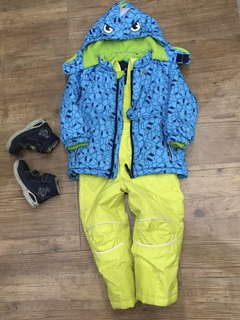 Зимний комплект, куртка, штаны, lenne, 3 года