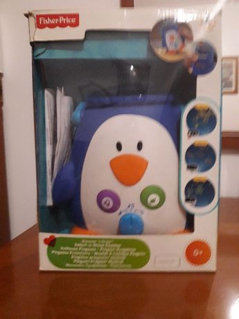 Pinguim Projector Musical 0 - 6 meses+