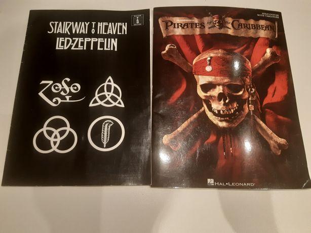 Nuty i tabulatury Piraci z Karaibów, Led Zeppelin