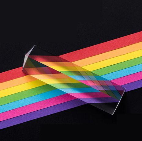 Треугольная стеклянная призма BK7, 25x25x80 мм, Оптическая prism