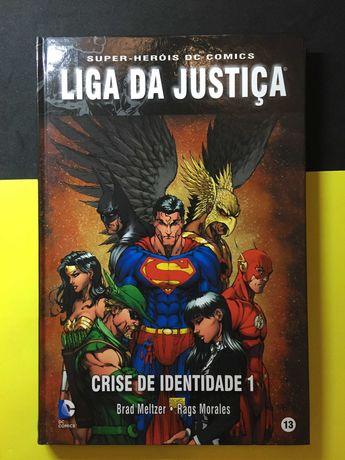 Super-Heróis DC Comics. Liga da Justiça, Crise de identidade 1