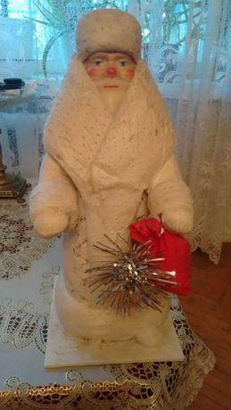 Дед Мороз из папье-маше СССР