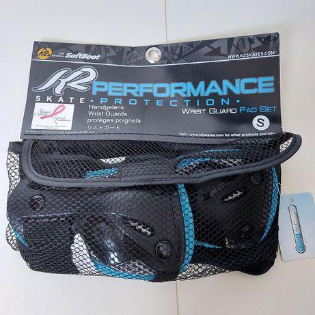 Ochraniacze K2 nadgarstków Wrist Guard rolki hulajnoga protektory r. S