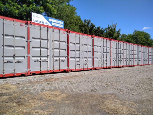 Self Storage Garaż Magazyn schowek do wynajęcia kontener morski Lubin