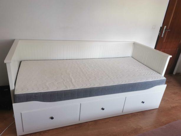 Łóżko hemnes z materacem lub bez