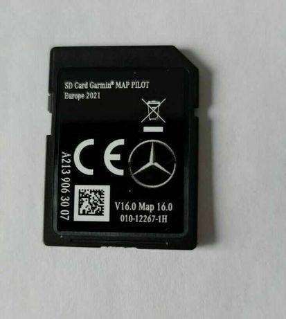 Mercedes Benz Cartão GPS NTG5 Star2 V16.0 2021