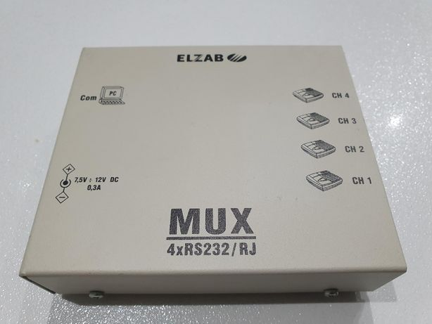 Multiplekser Elzab Mux 4xRS232/RJ