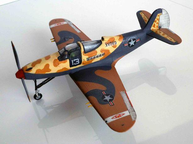 Аэрокобра модель 1-72