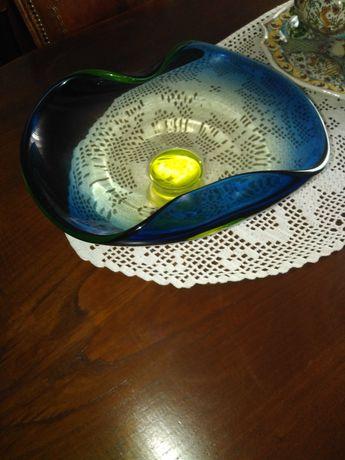 Fruteira vidro pesada