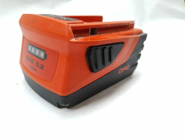 Bateria Hilti B22 5.2 AH. Stan bdb 2020r T4 A-22 wkrętarka szlifierka