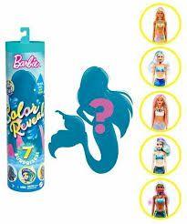 Кукла Барби Русалка с сюрпризами Barbie Color Doll with 7 Surprises