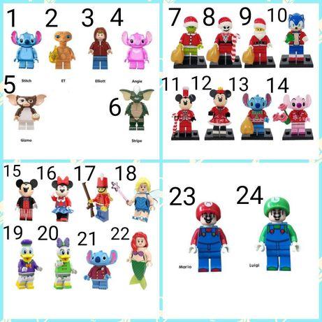 Nowe figurki film bajka w pełni kompatybilne z klockami lego