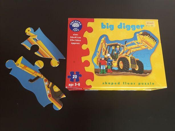 Puzzle big digger - koparka