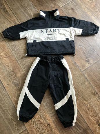 Костюм комплект спортивный плащевка ветровка курточка штаны