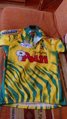 Włoska koszulka rowerowa SMS Santini