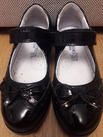 Туфлі шкіряні, шкільні