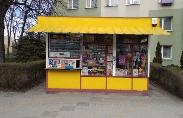 Kiosk pawilon handlowy