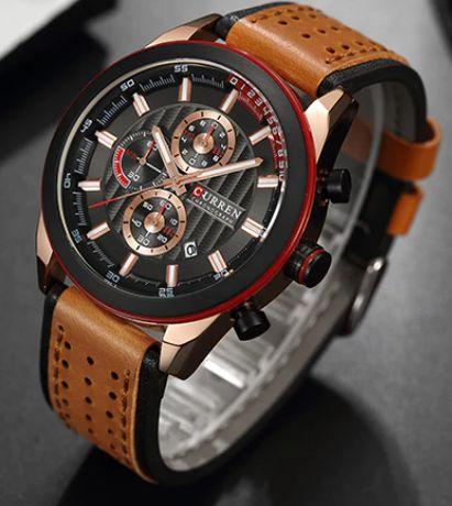 Nowy zegarek curren skóra !