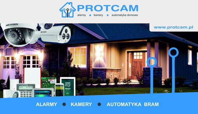 CCTV, SSWiN, montaż systemów alarmowych i monitoringu, kamery, alarm