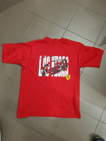 FERRARI Puma koszulka oryginalna z Las Vegas Store