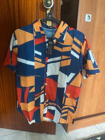 Camisa colorida a estrear