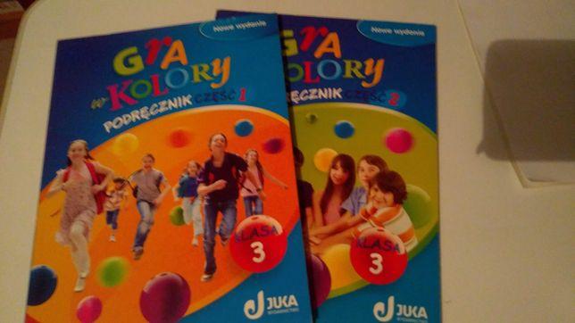 Gra w kolory klasa 3 podręcznik część 1 i 2 nowe