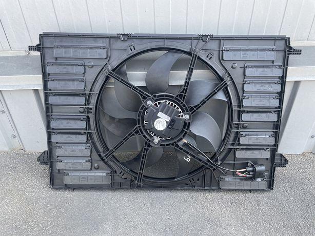 Дифузор з вентилятором Audi A4 B9 A5 новий 8w0959455j,8w0121003b