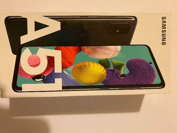 nowy Samsung Galaxy A51 black 128 GB czarny
