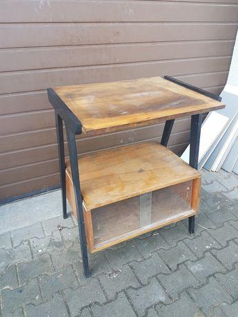 Szafka Prl patyczak stolik pod tv telewizor komoda