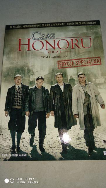 Film DVD - Czas honoru - Tom 1 - odcinki 1-3