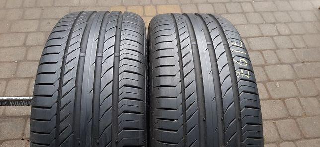 Резина літо 90% протектор Continental 235/45 R19 ContiSportContact 5